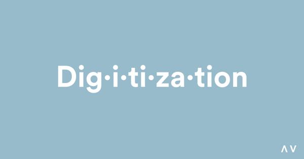 Digitization Definition