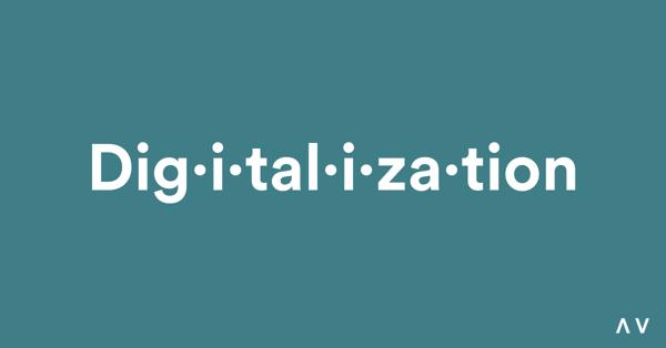 Digitalization Definition