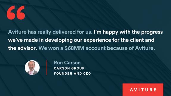 Ron Carson testimonial