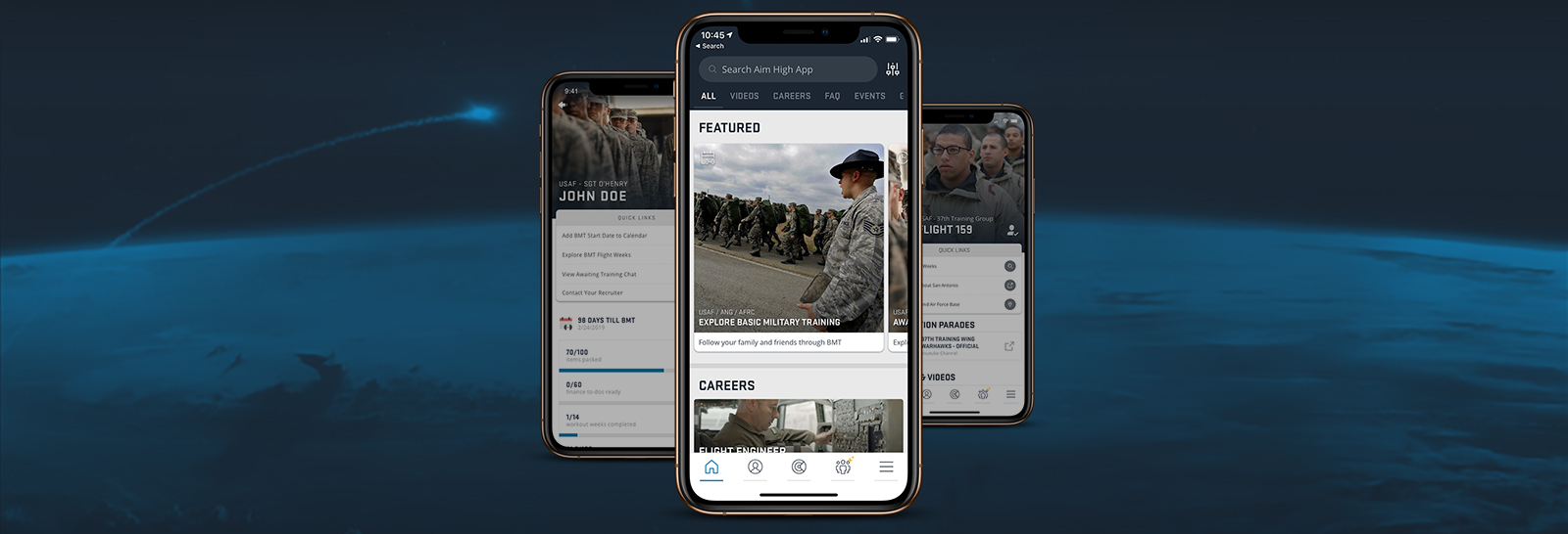 Aim High: A Mobile App Revolutionizing the Air Force