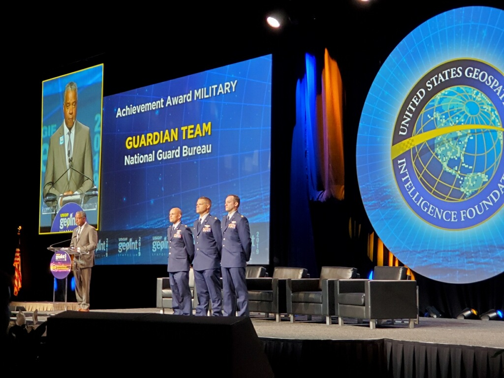 GUARDIAN Team Wins 2019 USGIF Military Achievement Award